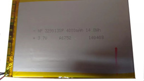 Bateria P/ Tablet Np 3290130p 4000mah 14.8wh
