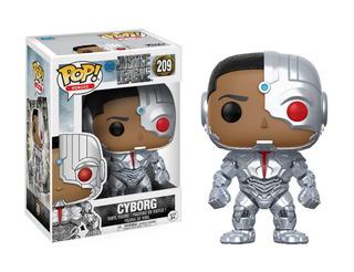Funko Pop Cyborg #209 Justice League Dc Jugueterialeon