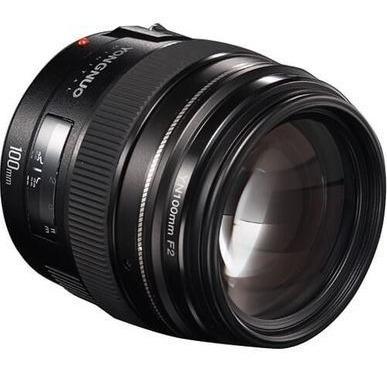 Lente Yn100mm F2 P/ Canon - Emitimos Nf