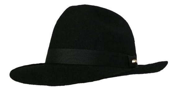Sombrero Fedora Gardeliano En Fieltro Fino Lana Unisex