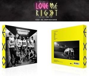 Exo Love Me Right (versão Coreana, Amarelo)