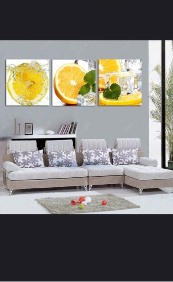 Quadro Drink Laranja 120x60 Qualidade Fotográfica 4k
