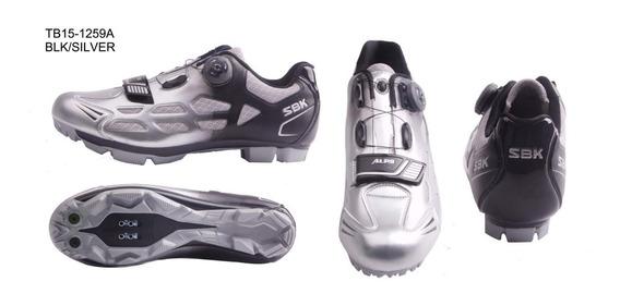 Zapatillas Zapatos Bicicleta Mtb Sbk Ciclismo Tb15-b1259
