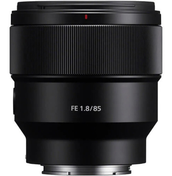 Lente Sony Fe 85mm F/1.8 E-mount (sel85f18)