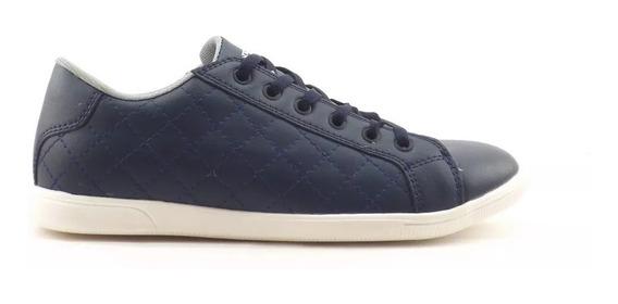 Zapatilla Stone Azul Matelasse 8030