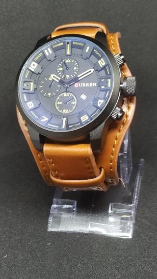 Relógio Curren 8225 Militar C/ Caixa - Pronta Entrega