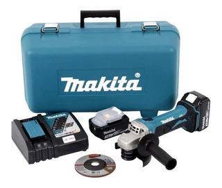 Esmerilhadeira Lixadeira Dga452rfe 18v 3.0ah 115mm Makita