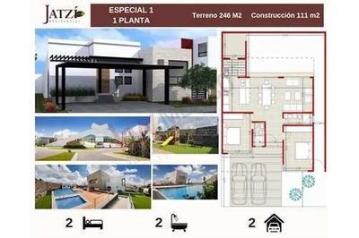 Casa En Venta De 1 Nivel Jatzi Residencial