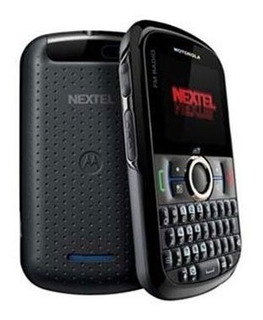 Nextel Motorola I475 Qwerty, Câmera, Gps E Rádio Fm - Preto