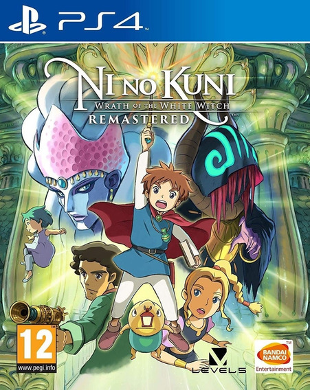 Ni No Kuni Wrath Of The White Witch Ps4 | Completo