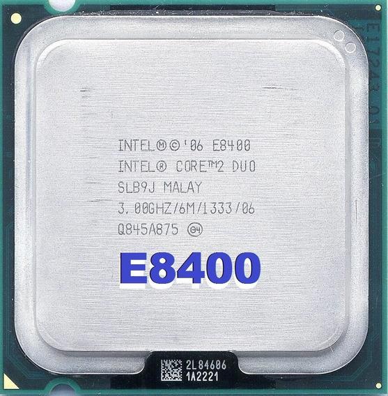 Core 2 Duo E8400 (3.0ghz/6mb Cache L2/ 1333 Mhz/lga 775)