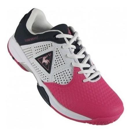 Zapatillas Le Coq Sportif Ronnie Lady Pink Y Violeta
