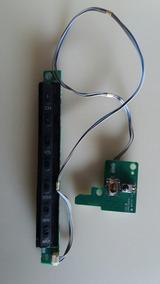 Teclado De Funções + Sensor Da Tv Lg42lg60fr Scarlet