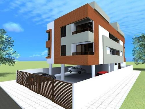 Imagem 1 de 3 de Apartamento À Venda, 55 M² Por R$ 200.000,00 - Aeroclube - João Pessoa/pb - Ap0571