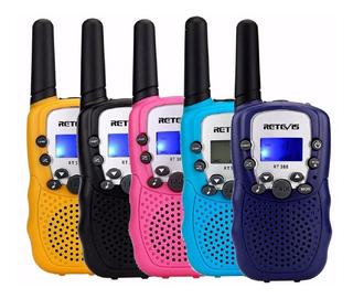 2 Radio Walkie Talkie Para Niños Retevis 0.7 W 2.5 Km