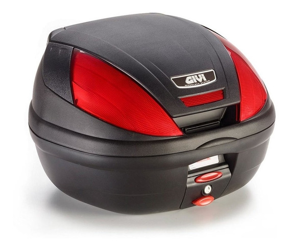 Baul Top Case Givi E370 39 Litros Monolock Solomototeam