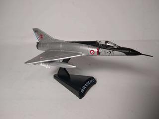 Miniatura Avião Mirage 3 1/136 Com Encarte