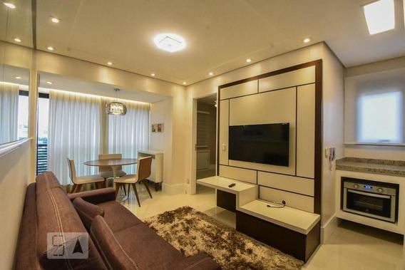 Apartamento No 7º Andar Com 1 Dormitório E 1 Garagem - Id: 892950766 - 250766