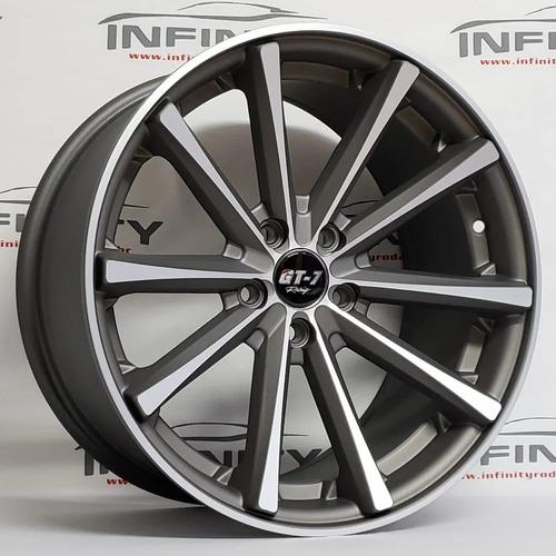 Imagem 1 de 4 de 4 Roda 18 Eclipse 5x112 Jetta Golf Audi Tiguan Tala 9,5 Pdw