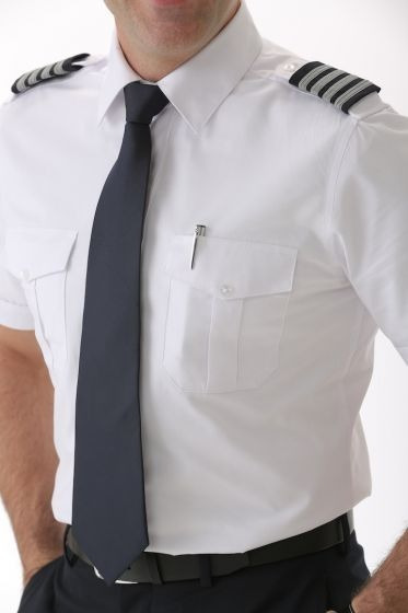 Camisa Aviador Slim Fit Para Pilotos