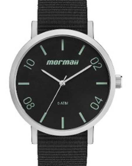 Relógio Mormaii Nylon Preto - Mo2035kb/oc