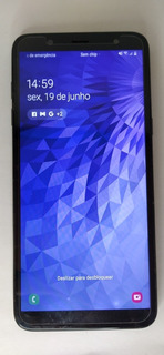 Samsung Galaxy J8 Com Caixa E Todos Acessórios