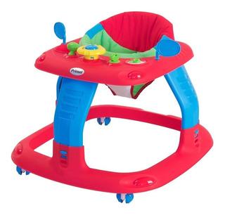 Andadera Para Bebe Sonic Prinsel Rojo 3 Niveles De Altura
