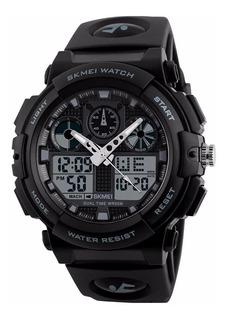 Reloj Skmei 1270 Tactico Sumergible Deportivo Dual Militar