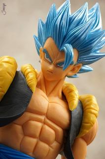 Gogeta Blue Grandista Banpresto Dragon Ball Original Churete