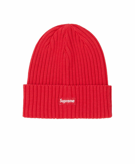 Supreme Overdyed Beanie Red