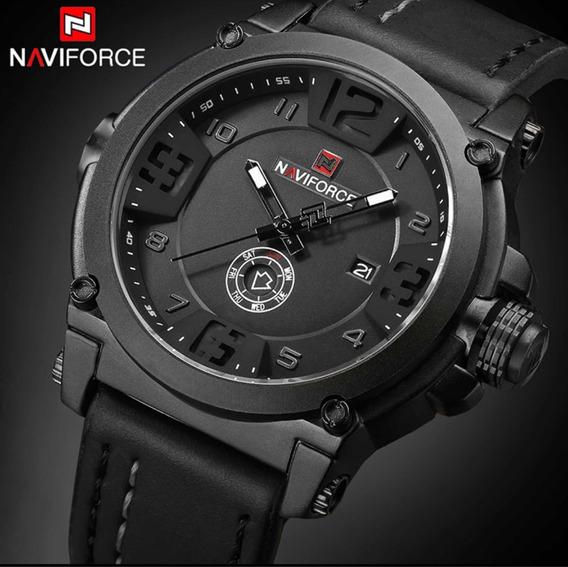 Relógio De Luxo Masculino Naviforce Militar Original