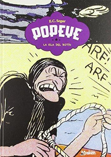 Popeye 4 La Isla Del Botín, Segar, Kraken