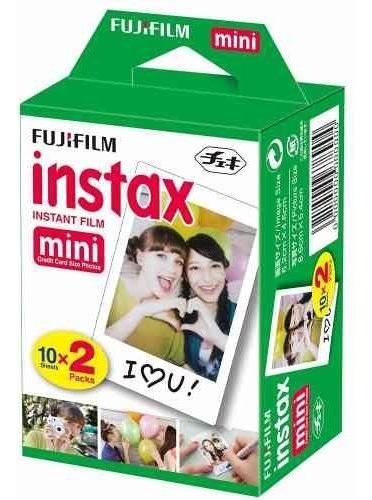 Filme Fuji Instax Mini 8 Com 20 Fotos Color 6x9 Cm - Novo !!
