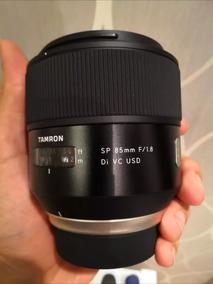 Tamrom 85mm 1.8 Com Estabilizador De Imagem Nikon