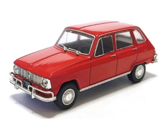 Autos Inolvidables Argentinos Salvat Nº 27 Renault 6 ®