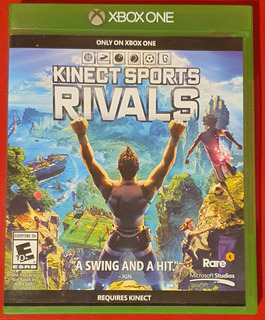 Kinect Sports Rivals, Fisico, Xbox One, Impecable, Sin Rayon