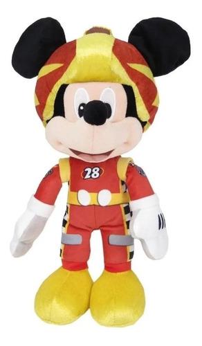 Juguetes Peluche Mickey Traje De Carrera 50cm