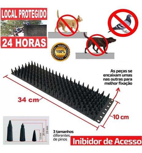 6 Espículas Anti Pombos/gatos Inibidor De Acesso A Invasão