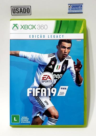Fifa 19 Xbox 360 Original Mídia Física Usado