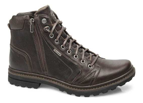 Bota Freeway Absolut1 Texas Masculina Couro Capuccino 3201