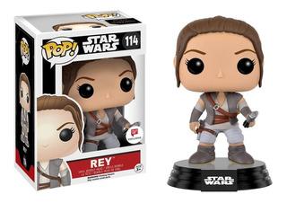 Funko Pop   Star Wars - Rey 114 (walgreens Exclusive)