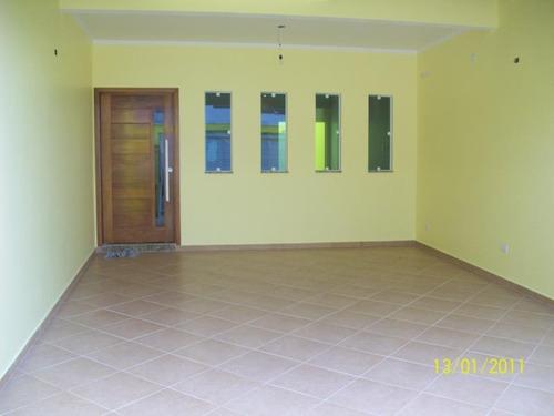 Sobrado Com 3 Dormitórios À Venda, 200 M² Por R$ 960.000,00 - Parque Das Nações - Santo André/sp - So0936