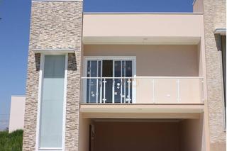 Casa Com 3 Dormitórios À Venda, 150 M² Por R$ 550.000 Rua Estado De Minas Gerais, 1 - Condomínio Village Moutonnée - Salto/sp - Ca2831