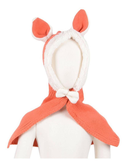 Orange - Lindo Bebé Niñas Niños Conejo Coreano Abrigo P-3884