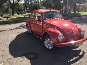 Volkswagen Escarabajo Modelo 1980 Placa Impar 281