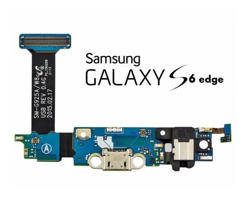 Flex De Carga Samsung S6 Edge  Repuesto Somos Tienda