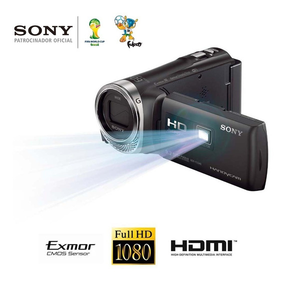 Filmadora Sony Hdr-pj380 Full Hd Projetor 8.9mp Top De Linha