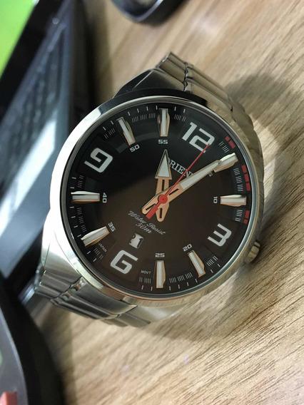 Relógio Orient Em Aço
