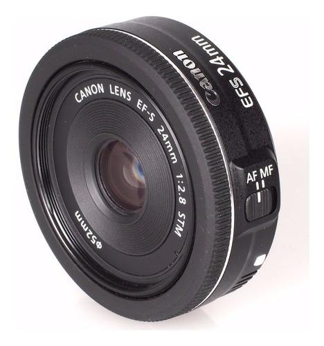 Imagem 1 de 4 de Lente Canon Ef-s 24mm F/2.8 Stm Grande Angular