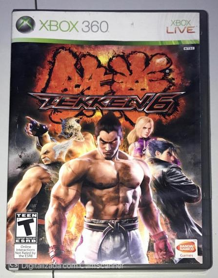 Tekken 6 (mídia Física) Xbox 360